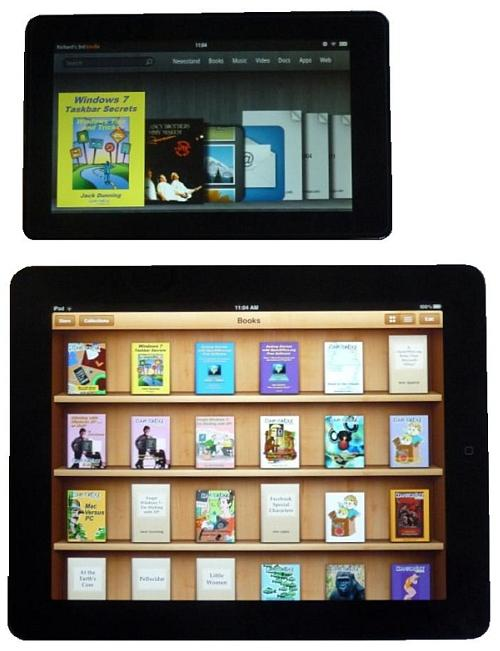 Apple Ipad Vs Kindle: The Kindle Fire VS. The Apple IPad