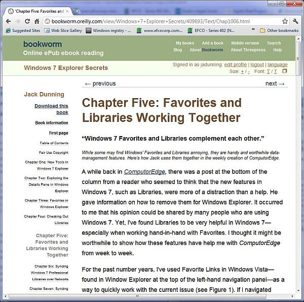 Free Software for Reading E-Books on Your Computer